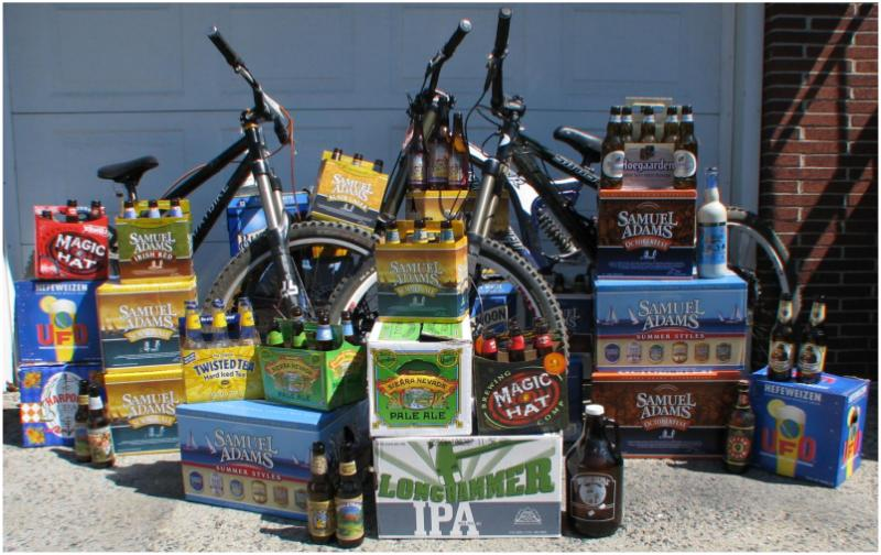 Tons of Bikes and Beer!
